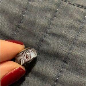 Chamilia murano glass bead with .925 silver
